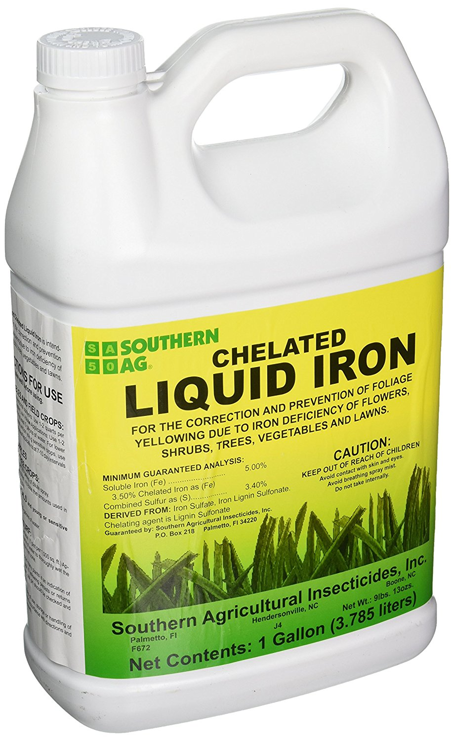 This is a photo of Breathtaking Fertilome Chelated Liquid Iron Label